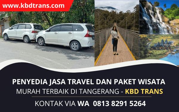 Travel Tangerang Jakarta Sukabumi PP Spesialis Door To Door