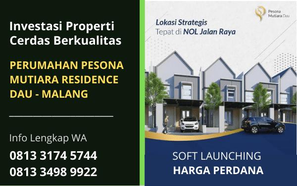 Promo Murah Rumah Properti Terbaru di Malang Jawa Timur