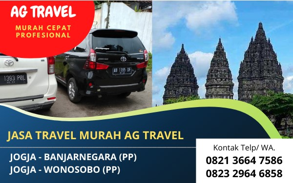 Travel Jogja Wonosobo Murah Terbaik Terpercaya AG Travel
