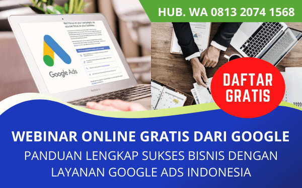 Webinar Gratis Google Indonesia Terpercaya