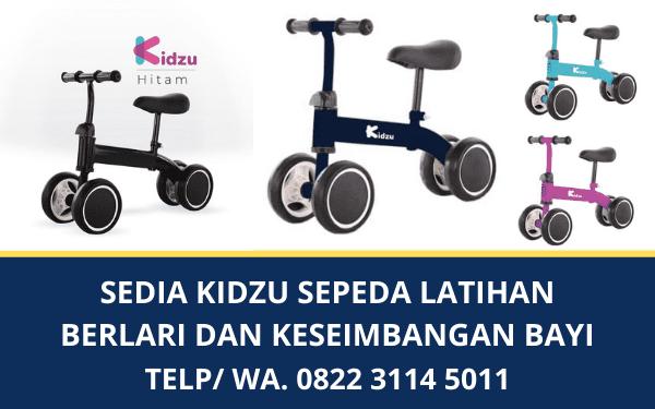 Sedia Kidzu Sepeda Latihan Berlari dan Keseimbangan Bayi Murah