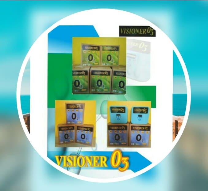 Sedia Visioner O3 Ozon Portabel Multi Fungsi Alat Sterilisasi Ruangan