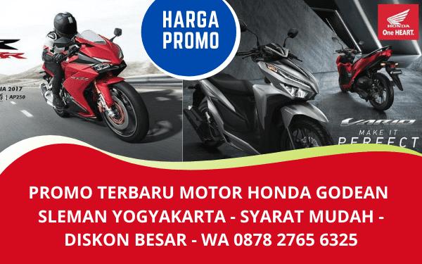 Promo Terbaru Motor Honda Godean Sleman Yogyakarta