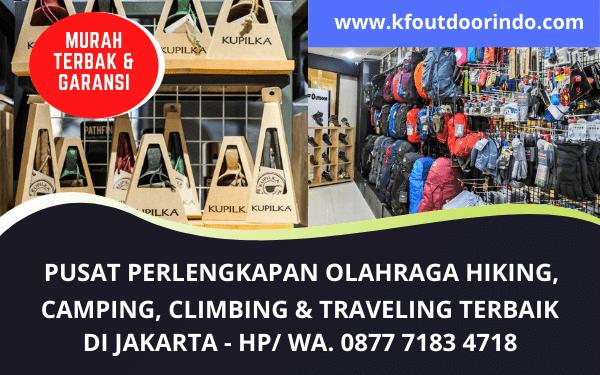 Penjualan Perlengkapan Olah Raga Hiking, Camping, Climbing dan Traveling