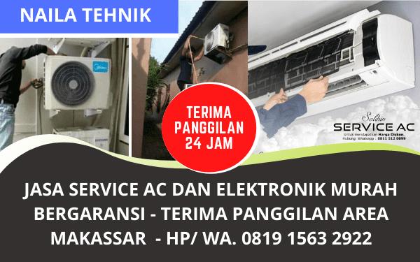Jasa Service AC Makassar Murah Bergaransi Panggilan 24 Jam