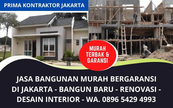 Jasa Bangunan Murah Bergaransi Jakarta Terpercaya