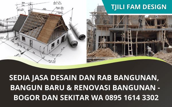 Jasa Desain Rancang Bangunan Murah Bogor