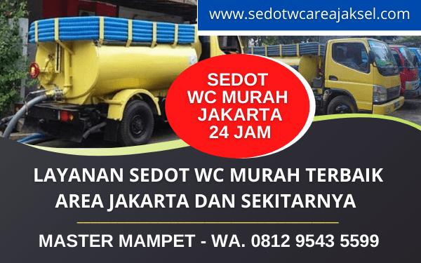 Jasa Sedot WC Jakarta Murah Bergaransi Terpercaya