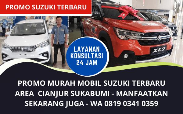 Promo Murah Suzuki Cianjur Sukabumi Bergaransi