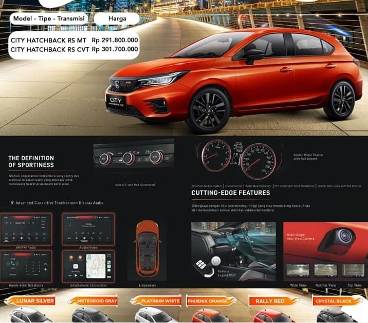 Promo Murah Honda Surabaya Bergaransi area Jawa Timur