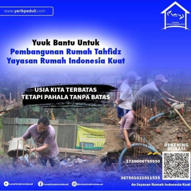 Mari Membangun Rumah Ngaji Untuk Yatim