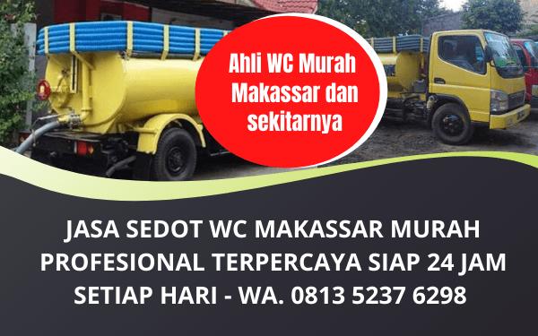 Jasa Sedot WC Makassar Murah Bergaransi Terpercaya