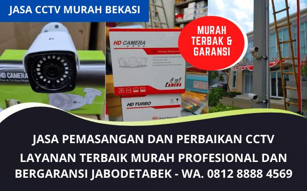 Jasa Pemasangan CCTV Murah dan layanan Service Bergaransi di Bekasi