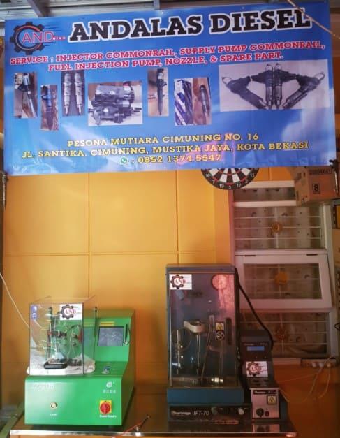 Jasa Service Injector Commonrail Mesin Diesel Terbaik Termurah di Bekasi