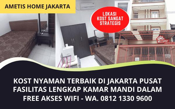 Kost Industri Jakarta Pusat Murah Fasilitas Lengkap